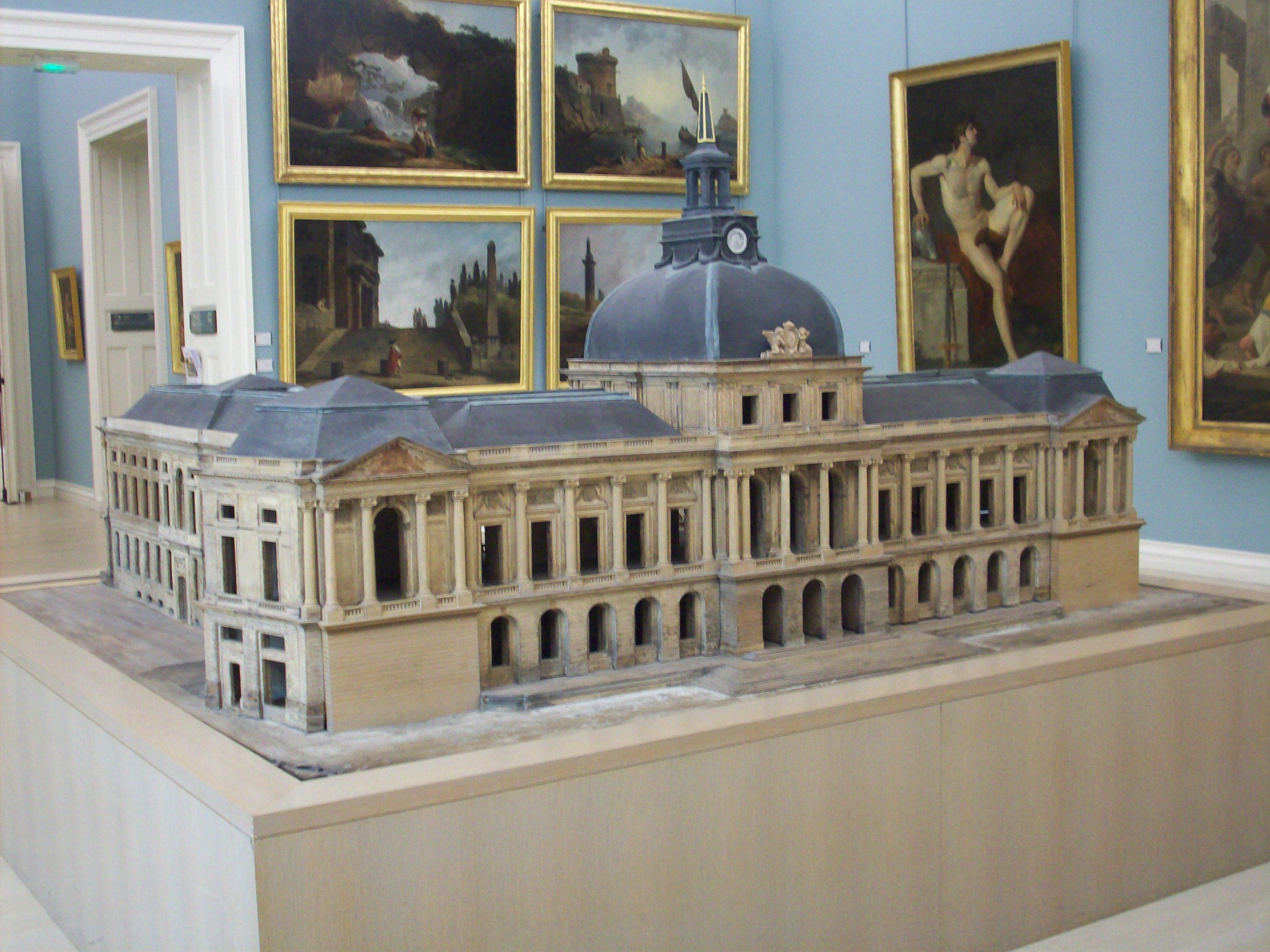 File maquette du futur h tel de ville de rouen jpg for Piscine rouen