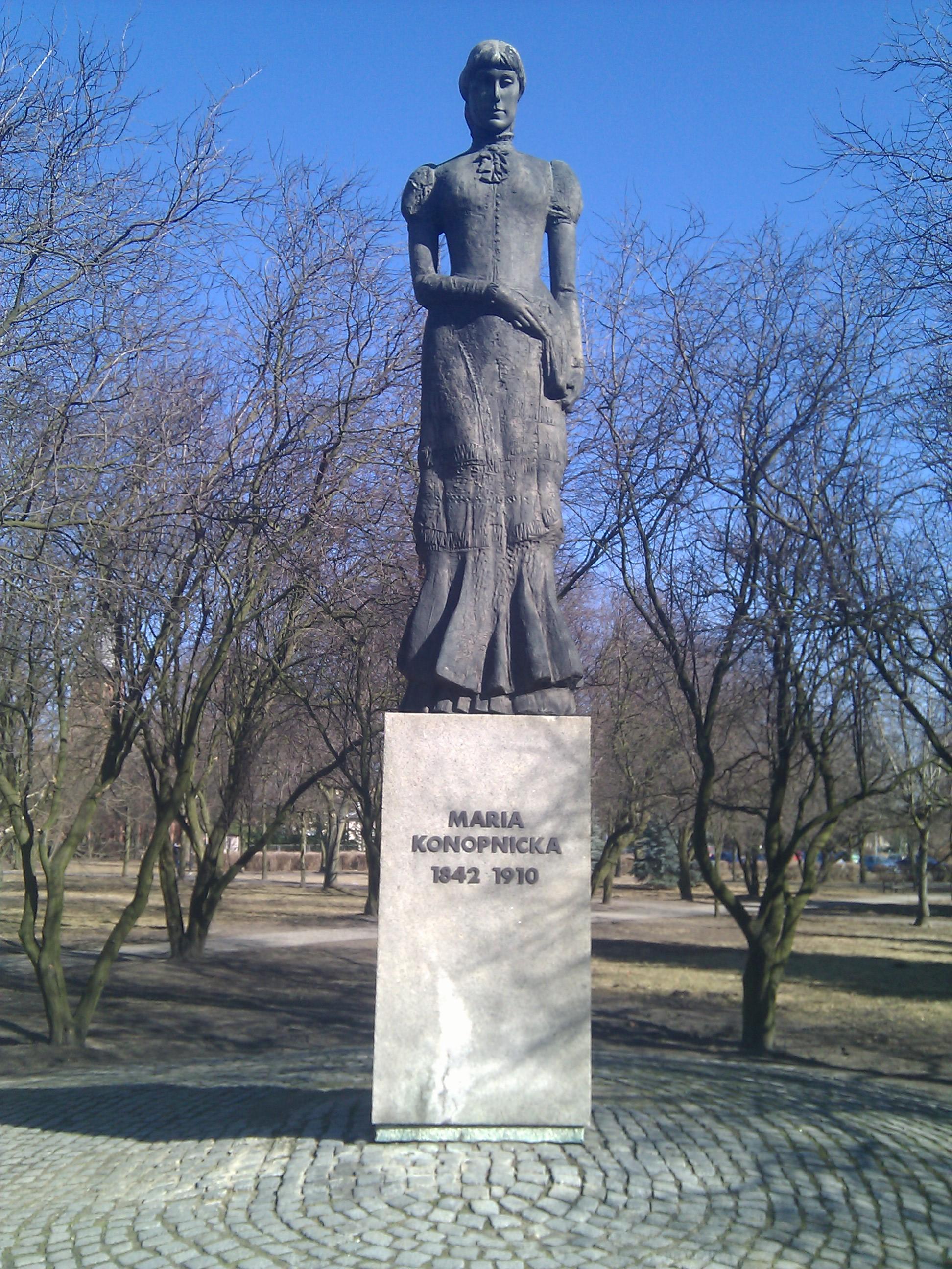 Pomnik Marii Konopnickiej We Wrześni Wikipedia Wolna