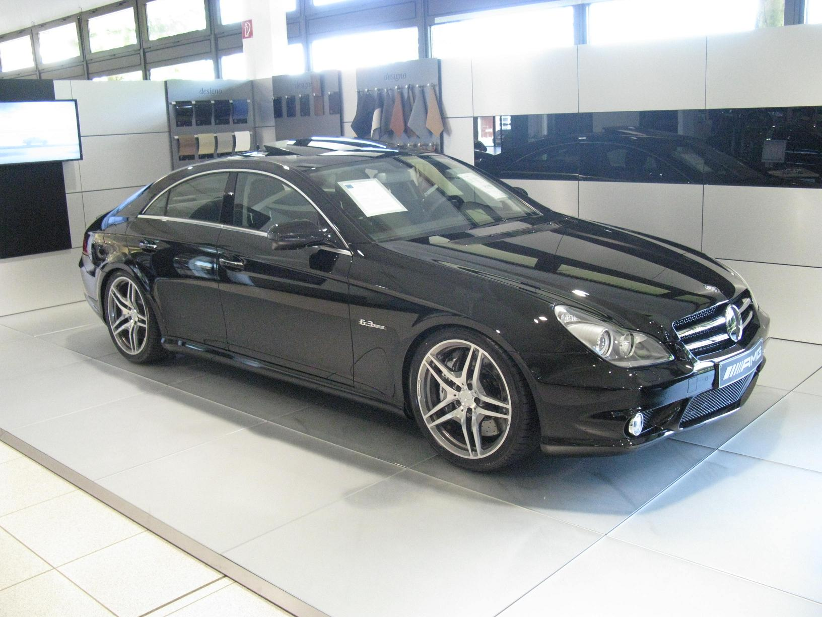 File Mercedes Benz CLS 63 AMG Wikimedia mons