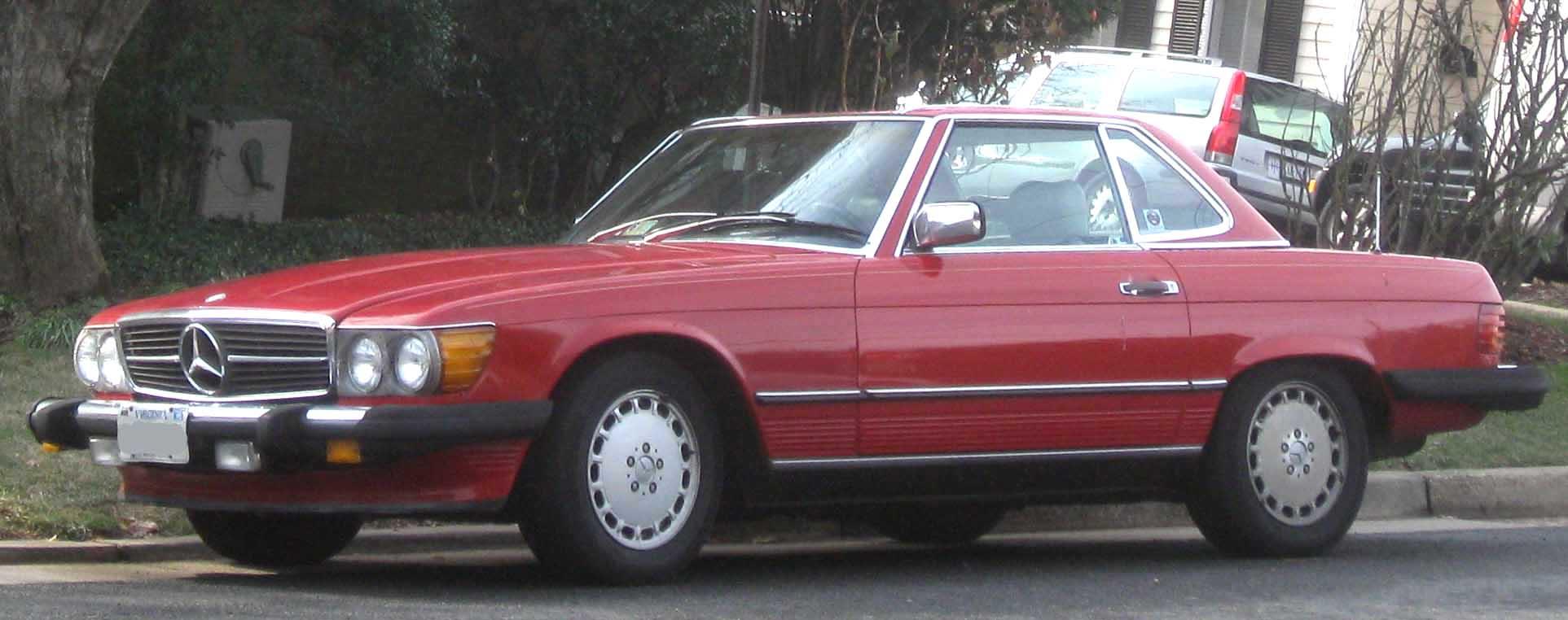 File Mercedes Benz Sl R107 Jpg Wikimedia Commons