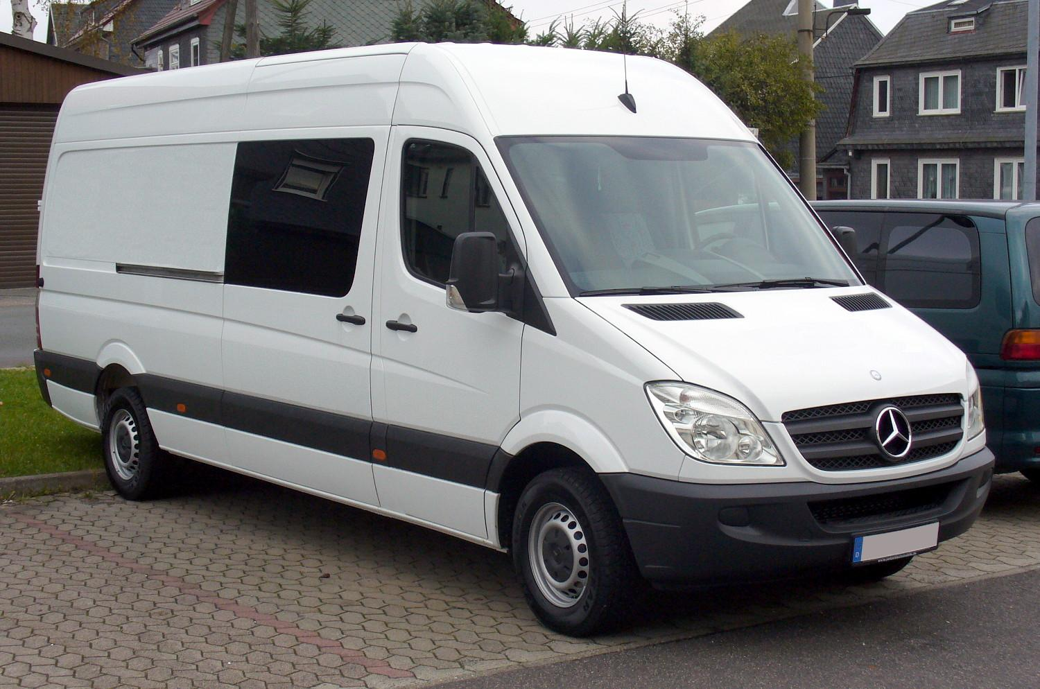 Has anyone tried living in a campervan in london london for Mercedes benz work vans
