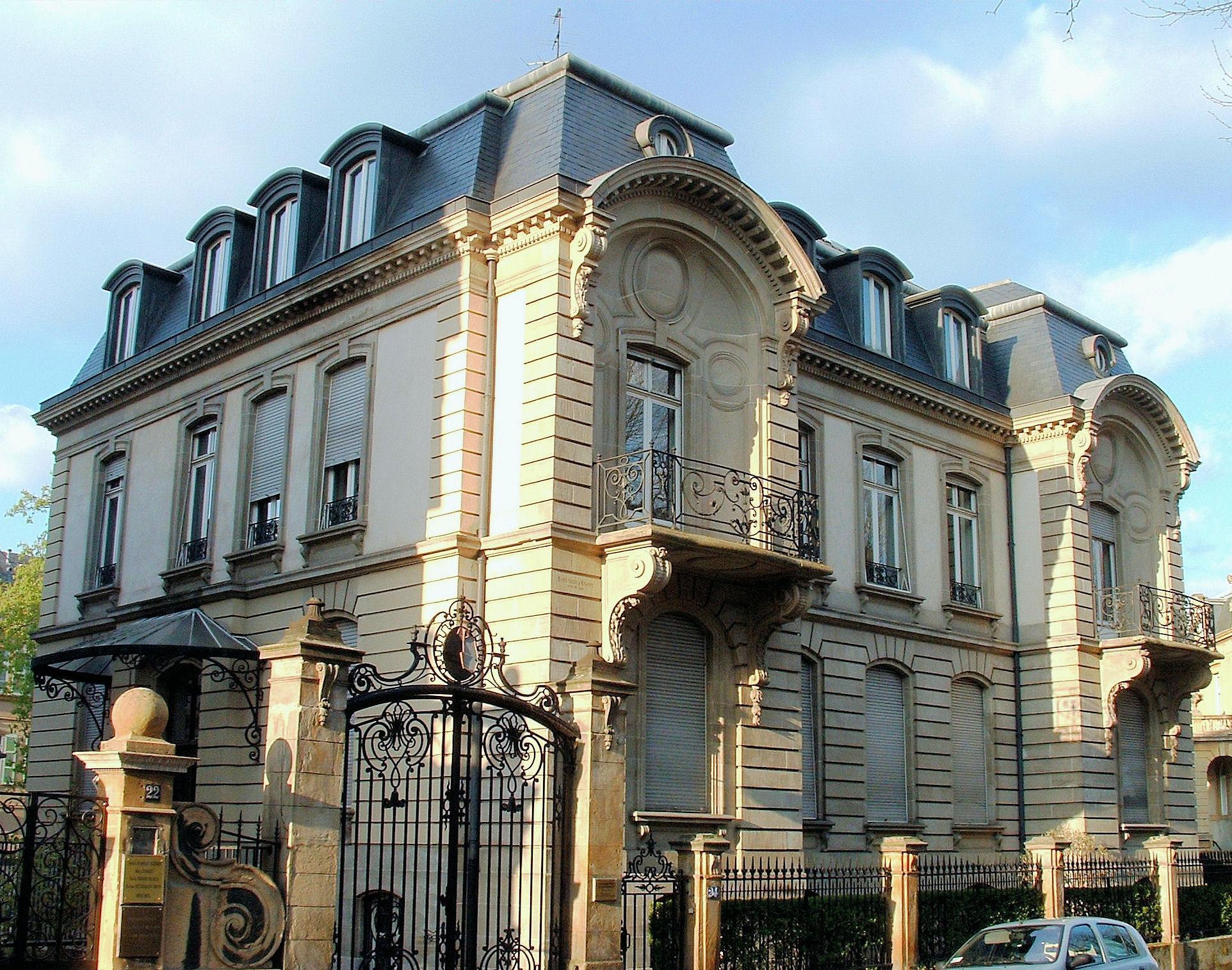 File metz 24 avenue foch wikimedia commons - Nachtclub avenue foch ...