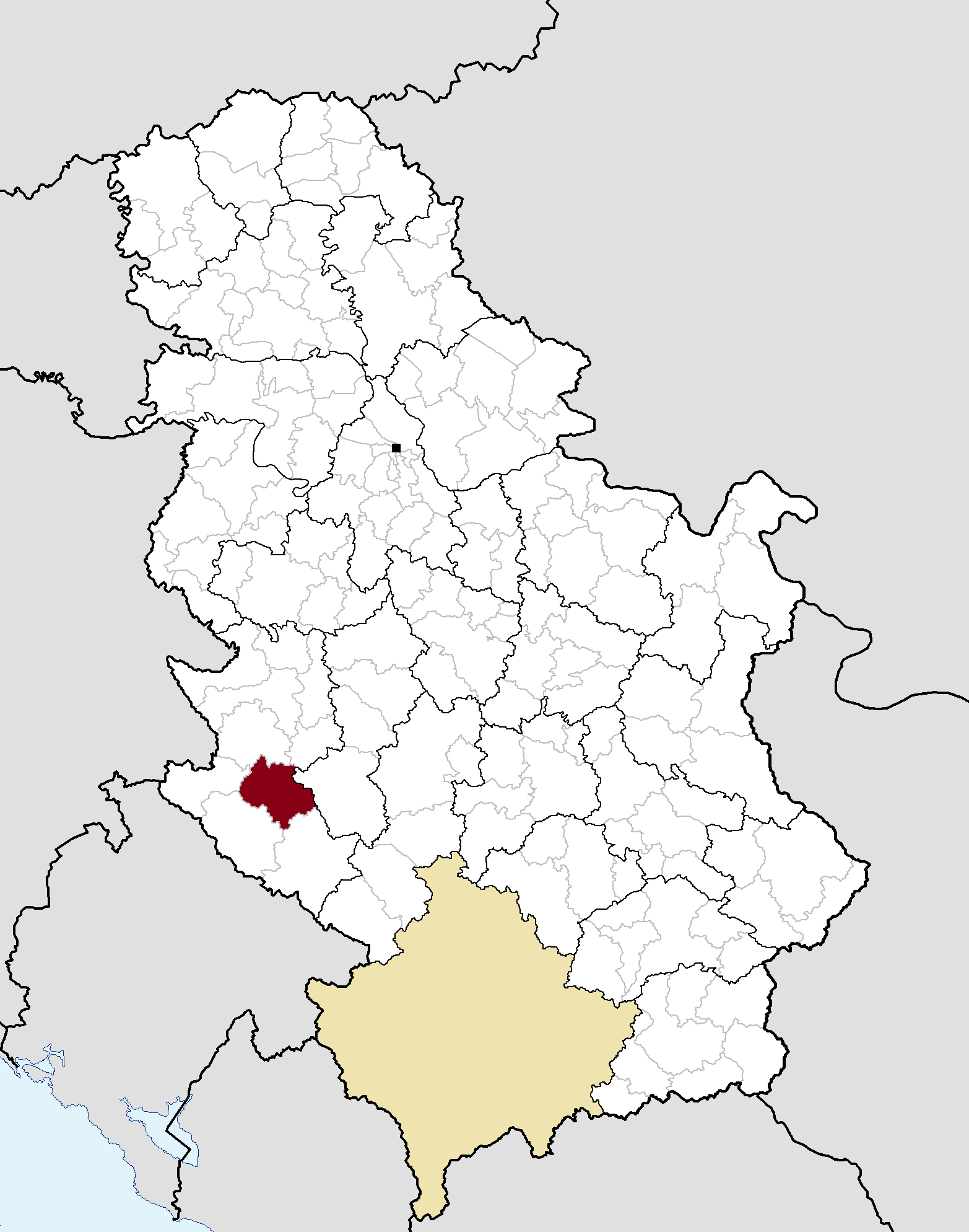 nova varos mapa Archivo:Municipalities of Serbia Nova Varoš.png   Wikipedia, la  nova varos mapa