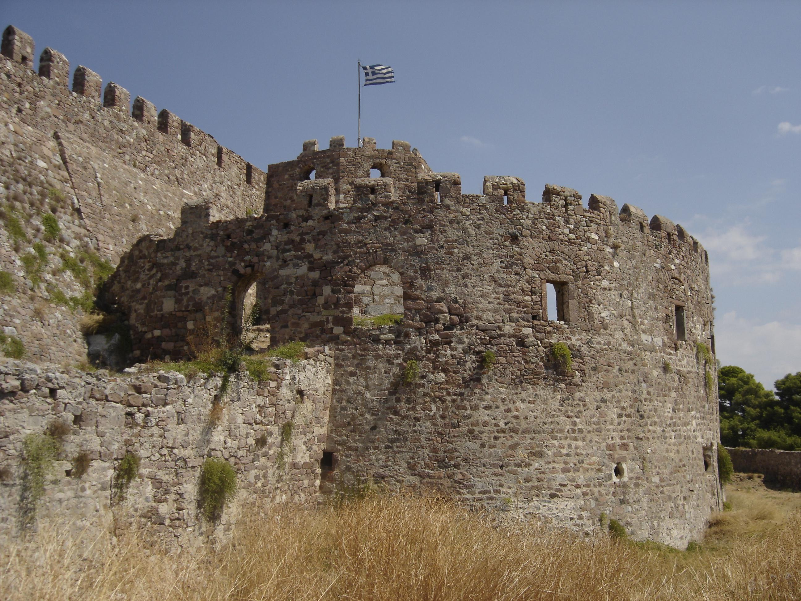 File Mytilene me val castle SouthWest JPG Wikimedia mons