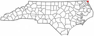 Carova Beach, North Carolina human settlement in North Carolina, United States of America