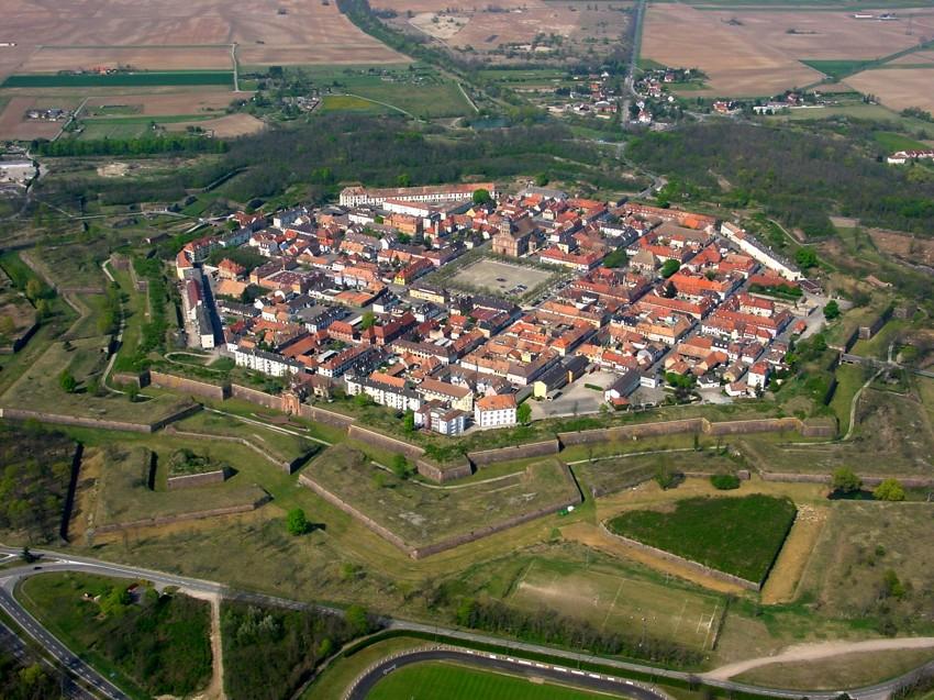 Neuf-Brisach, ciudad declarada Patrimonio de la Humanidad por la UNESCO.