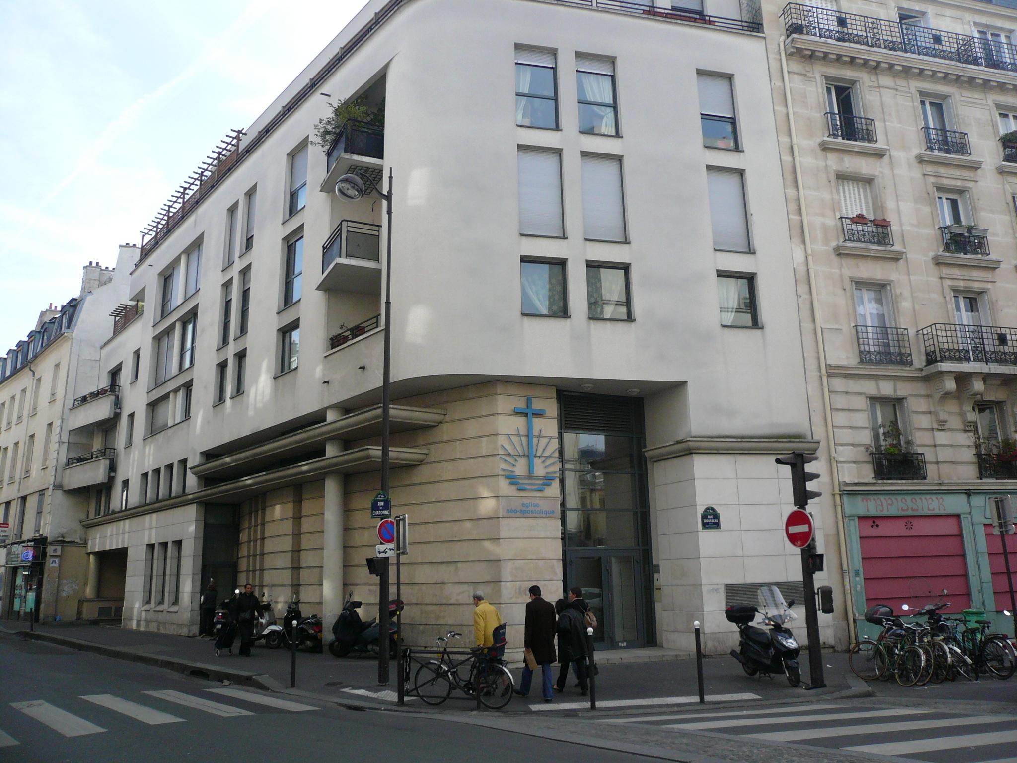 Tapissier Paris 20 file:new apostolic church 1, paris 16 march 2008