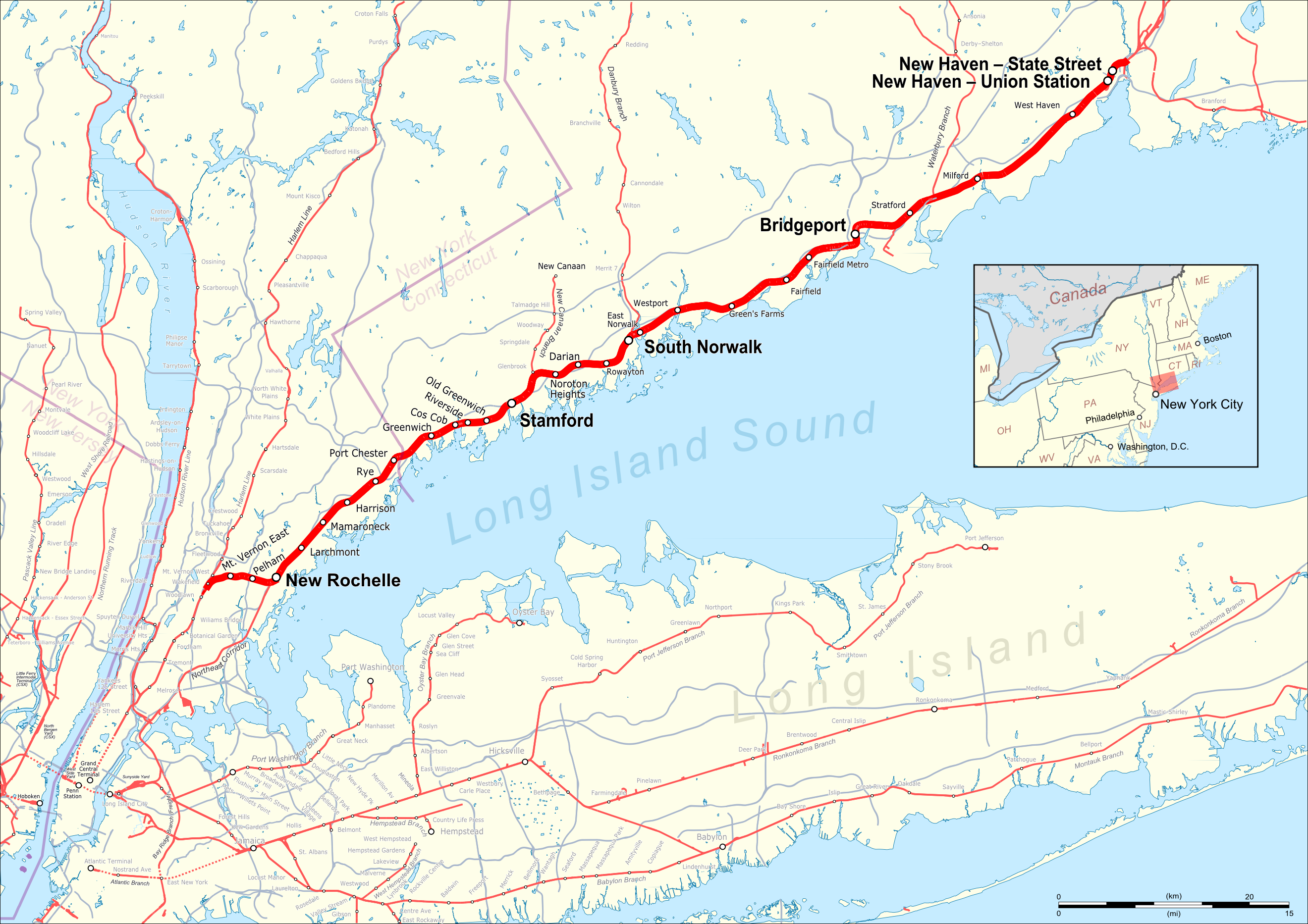 Amtrak Long Island Sound