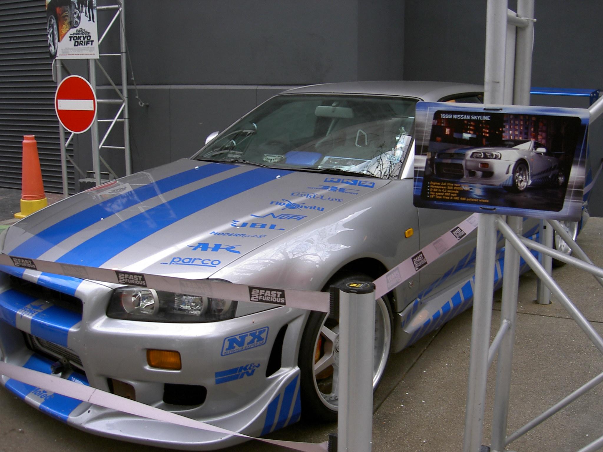autos de fast and furious 1 y 2
