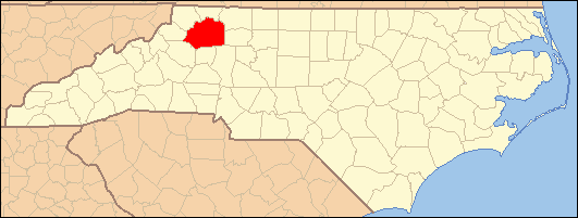 National Register of Historic Places listings in Wilkes County