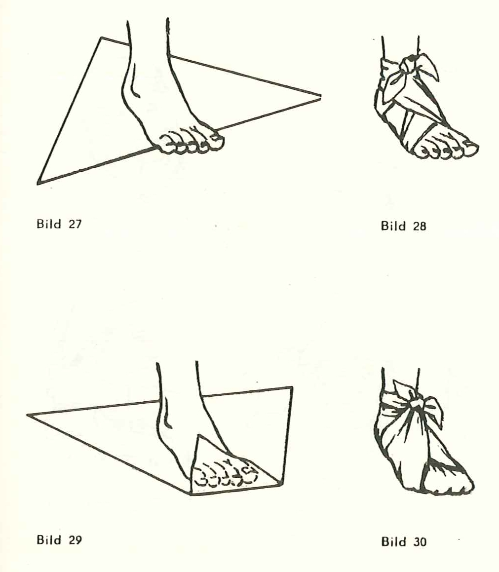 Accessoires : Dreieckstuch- Dämmerung