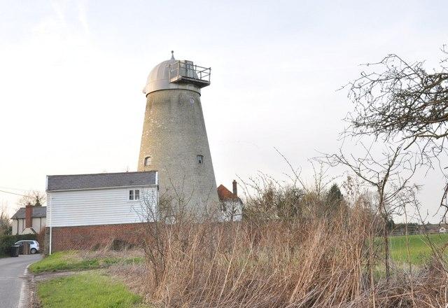 White Roding Windmill