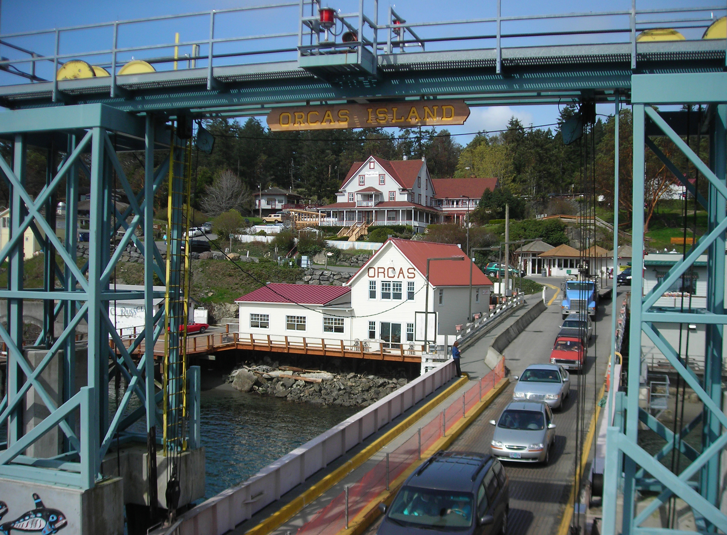 Ferry From Orcas Island To Twsawassen