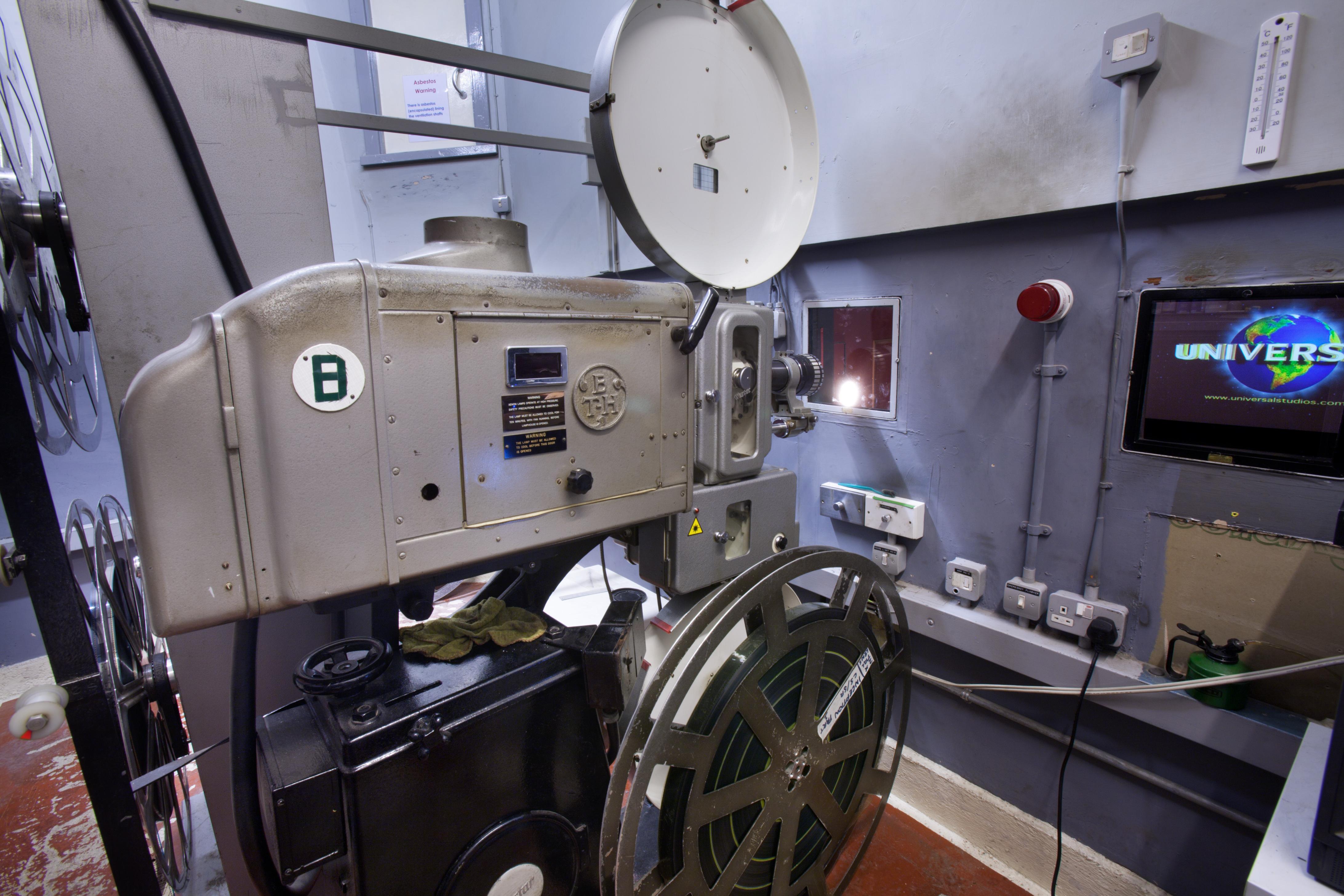 Filmprojektor vor der Digitalisierung
