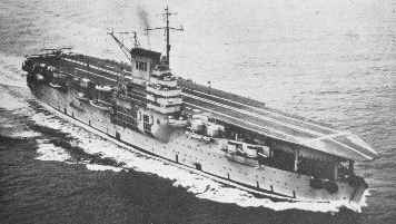 Aircraft Carrier Bearn