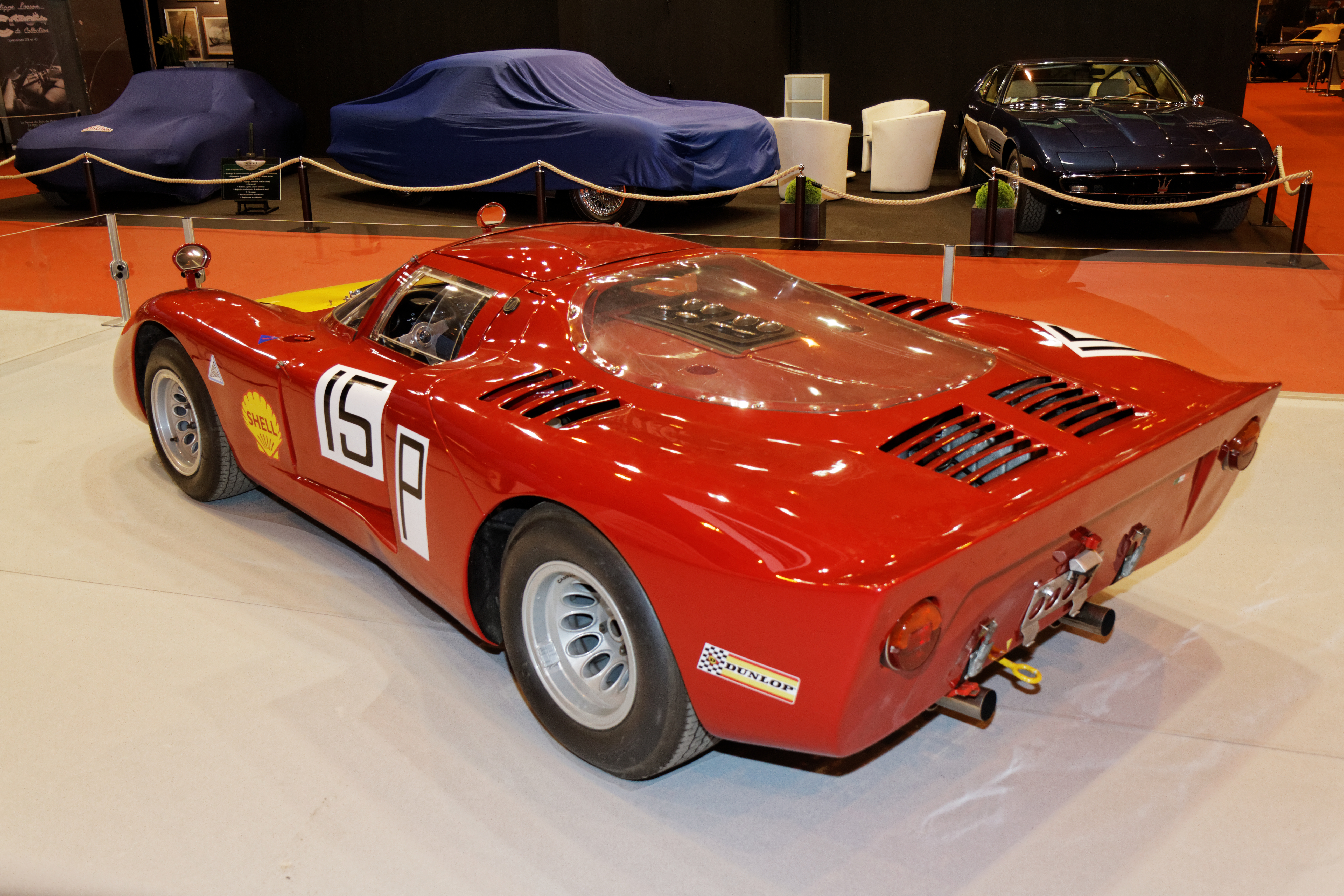 File Paris Retromobile 2014 Alfa Romeo 33 2 Daytona 1968 006