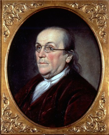 Benjamin Franklin was the primary founder, President of the Board of Trustees and a trustee of the Academy and College of Philadelphia, which merged with the University of the State of Pennsylvania to form the University of Pennsylvania in 1791 (Charles Willson Peale, 1785) Peale - Benjamin Franklin.jpg