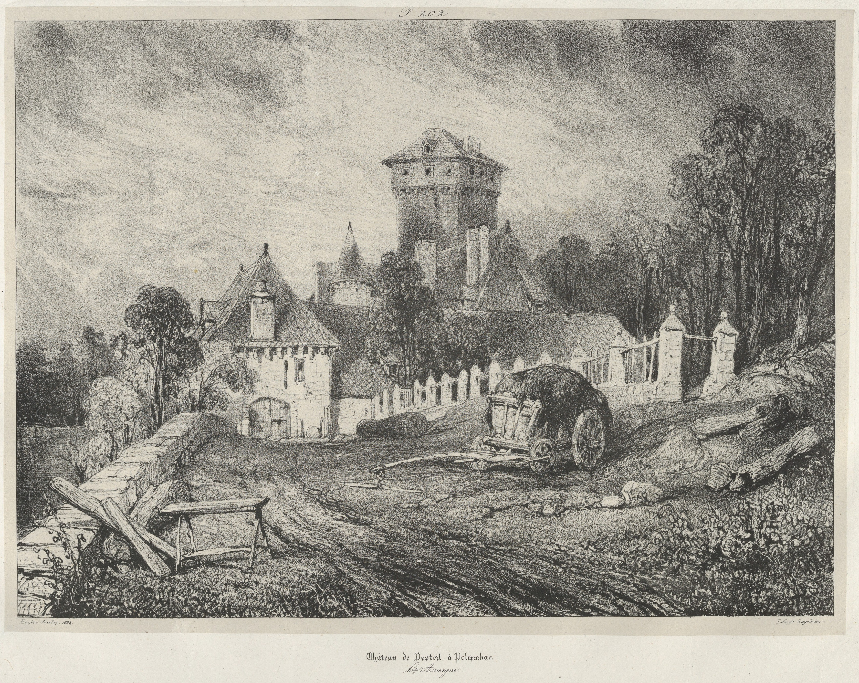 File Pesteil Castle in Polminhac MET DP Wikimedia mons