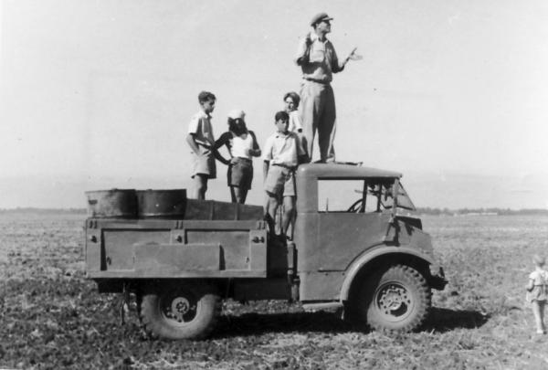 גן-שמואל-בשדות הנגב 1948-55