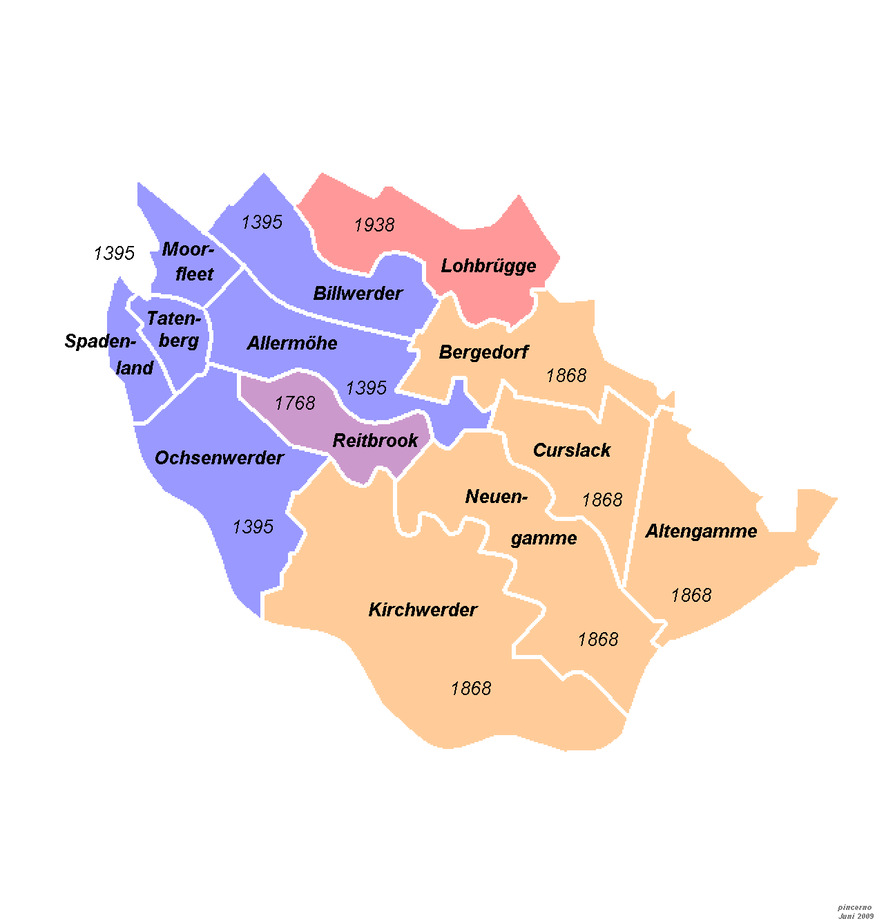 Bezirk Bergedorf –