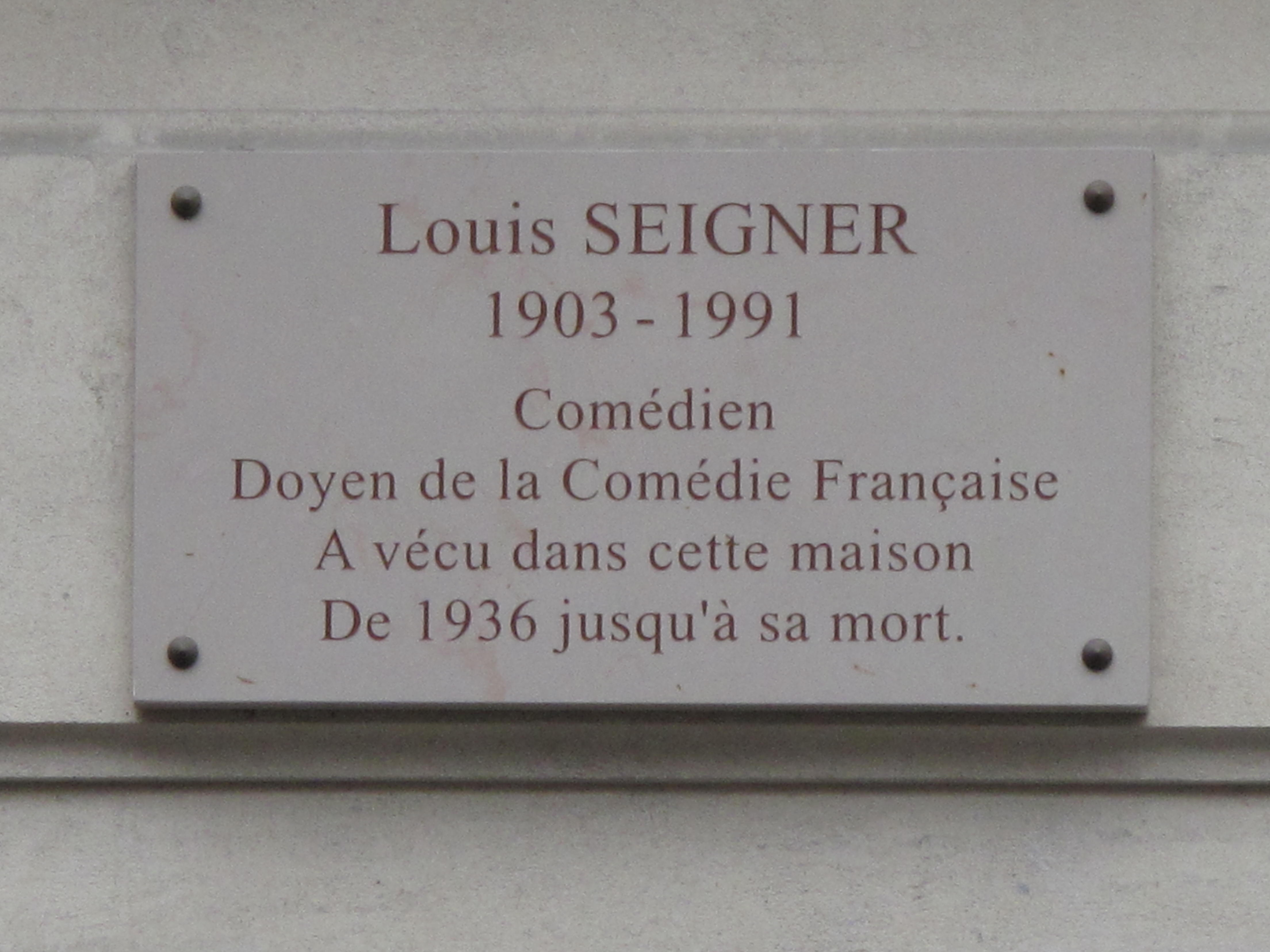 Photo Louis Seigner via Opendata BNF