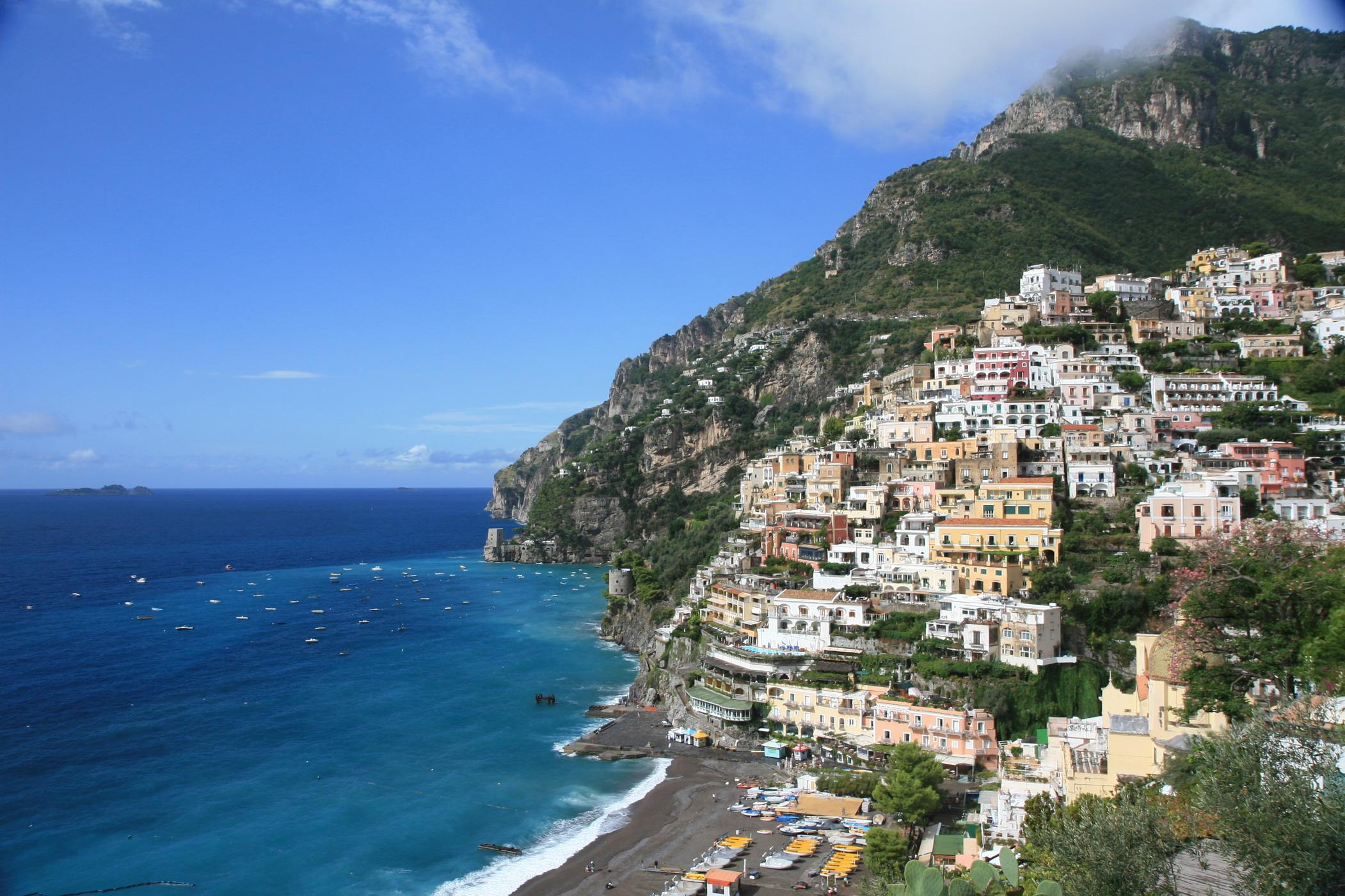 file positano amalfi coast