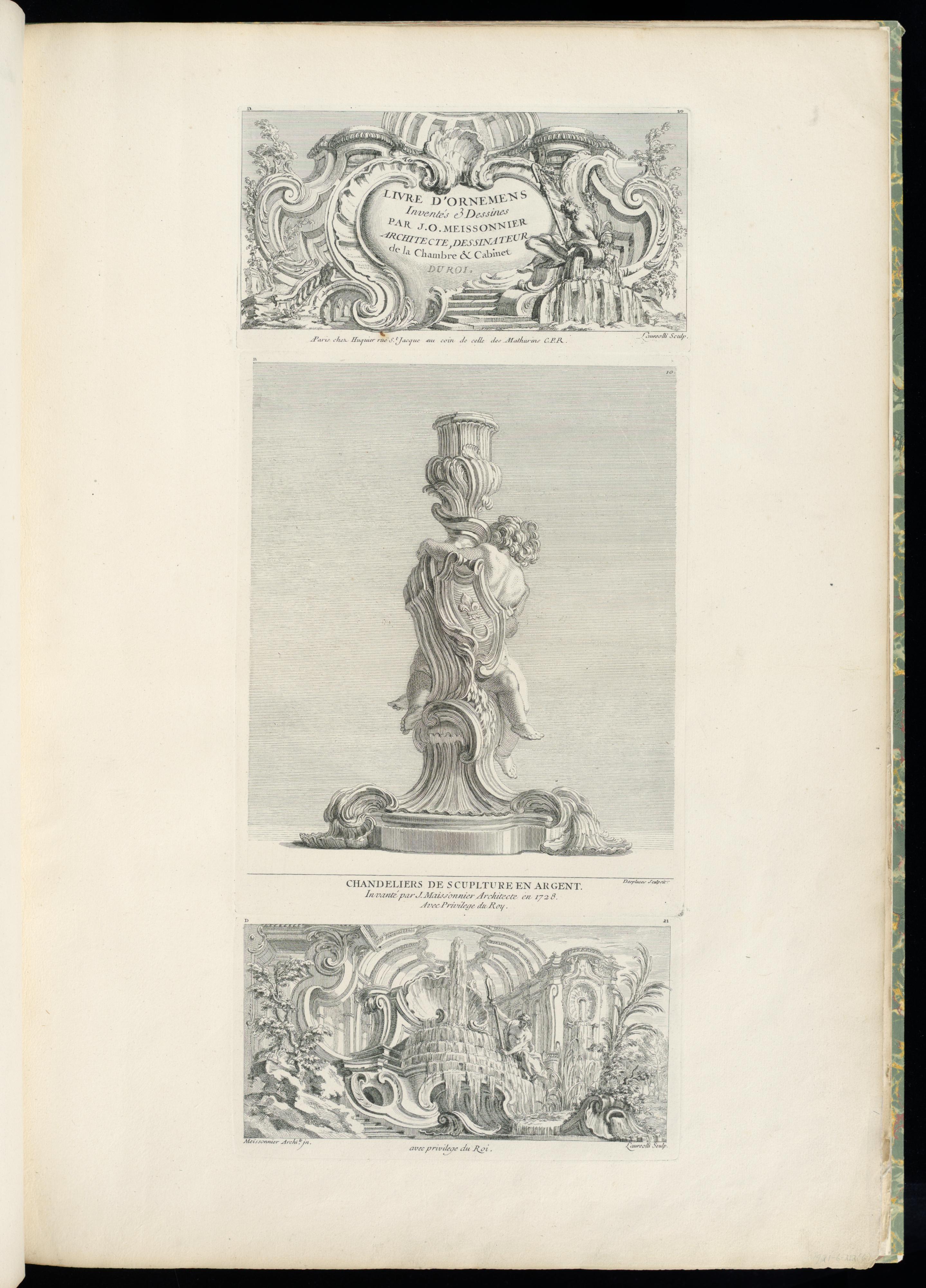 File Print Livres D Ornemens Inventés and Dessines par J A