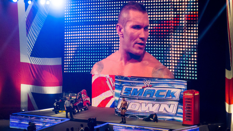 File Randy Orton vs Alberto Del Rio at Smackdown taping in Birmingham England November