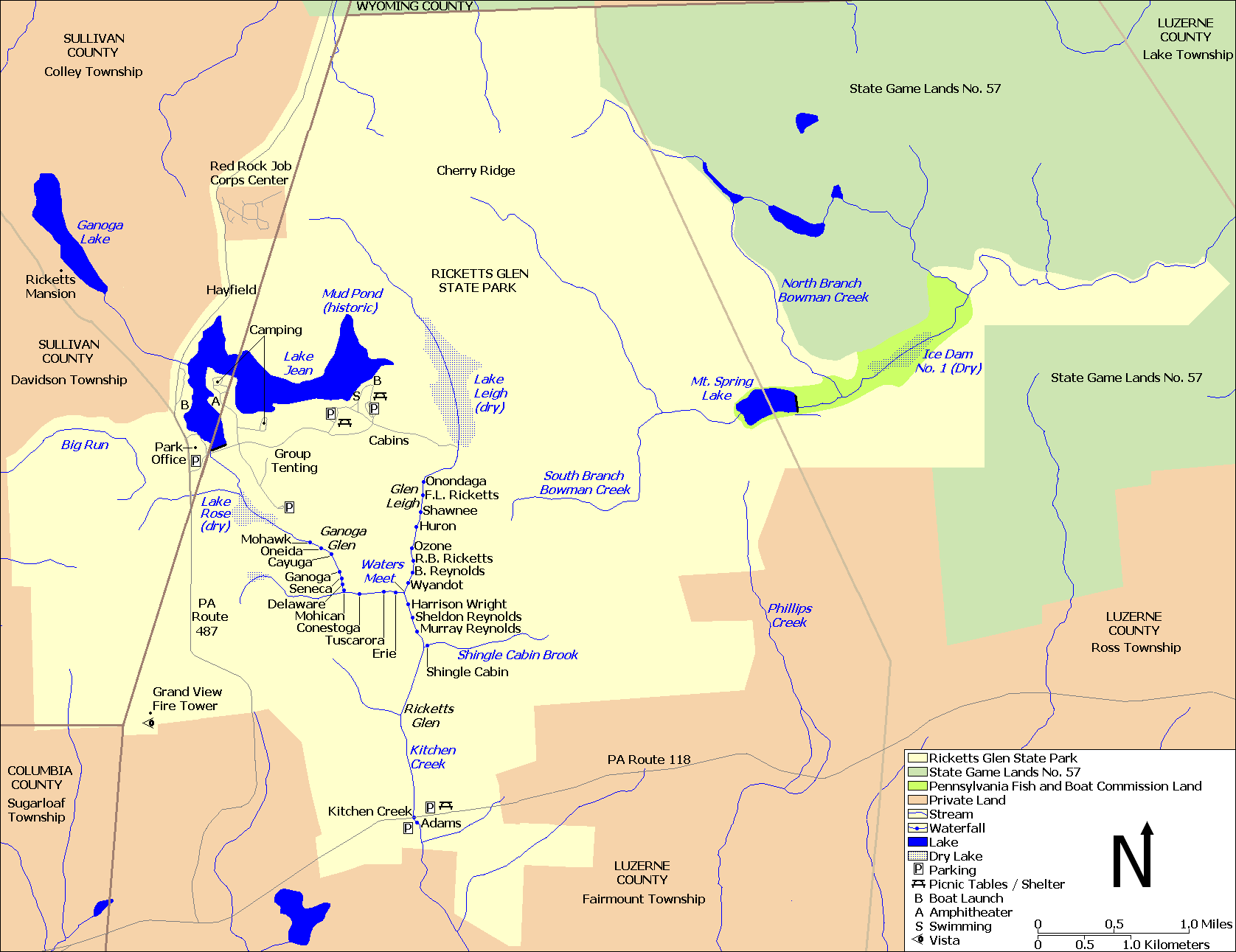 File Ricketts Glen State Park Map Wikimedia mons