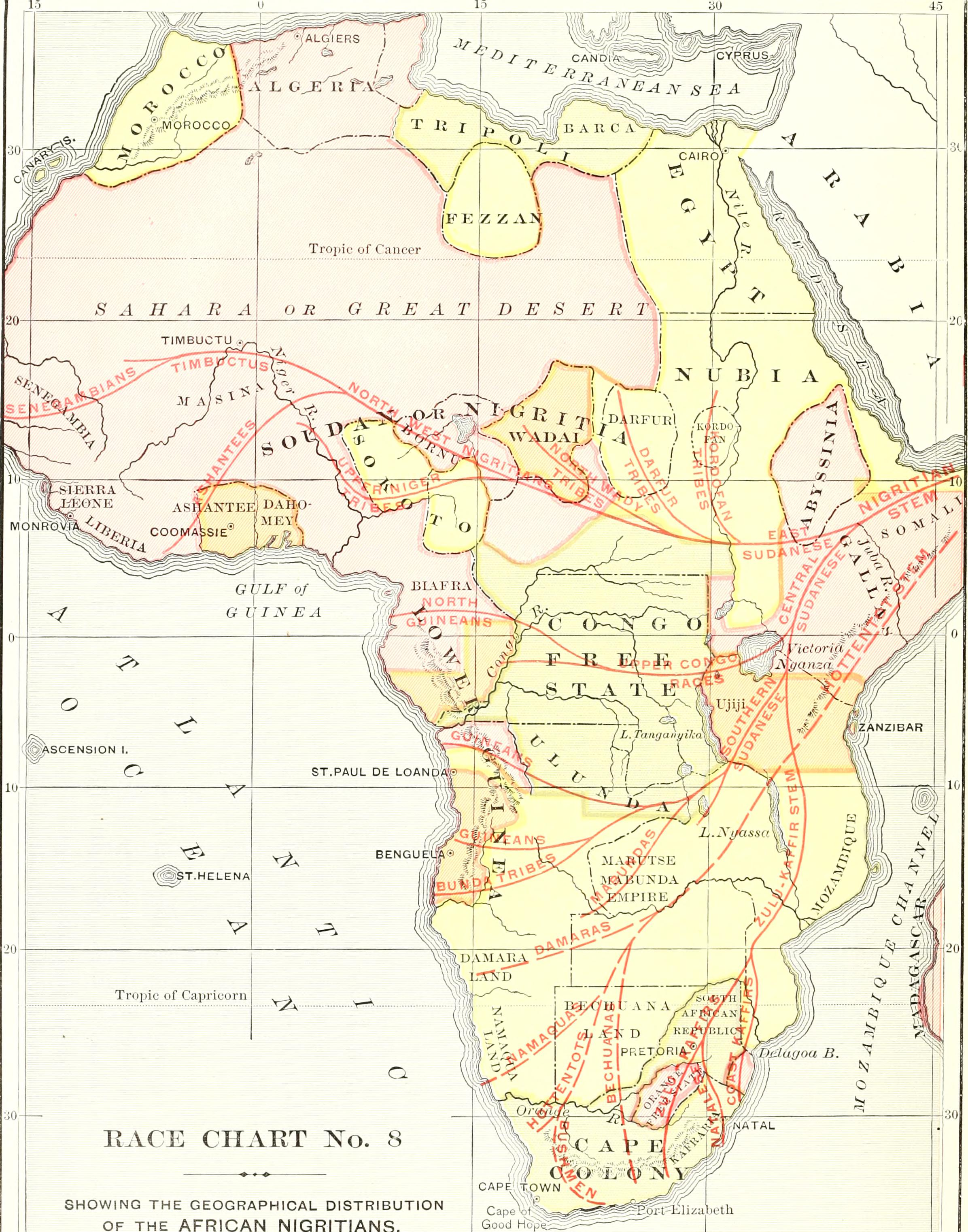 Zulu Time Chart: Ridpath7s Universal history - an account of the origin ,Chart