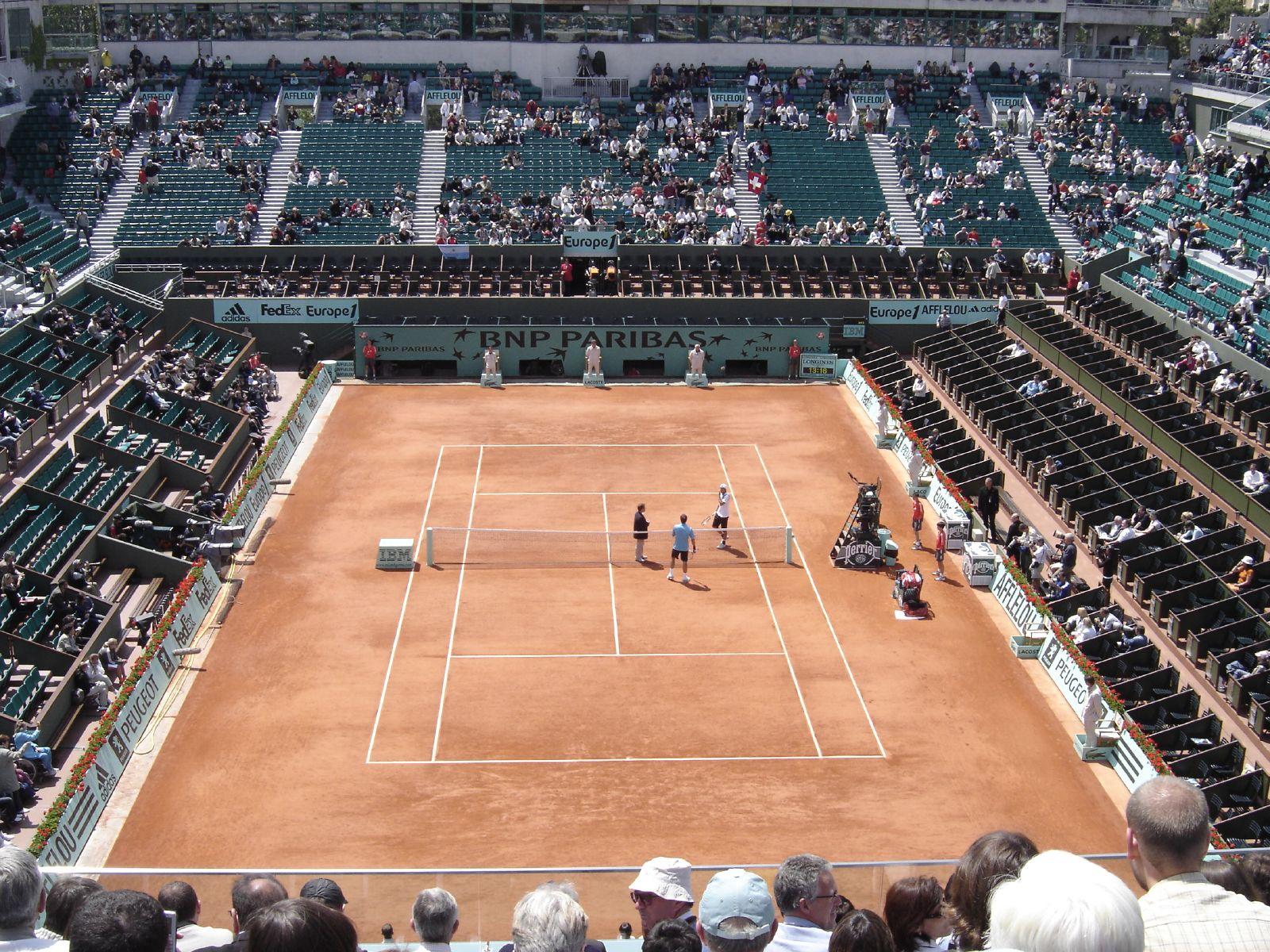 Teniski stadioni  Roland_Garros_Stadium_in_2007