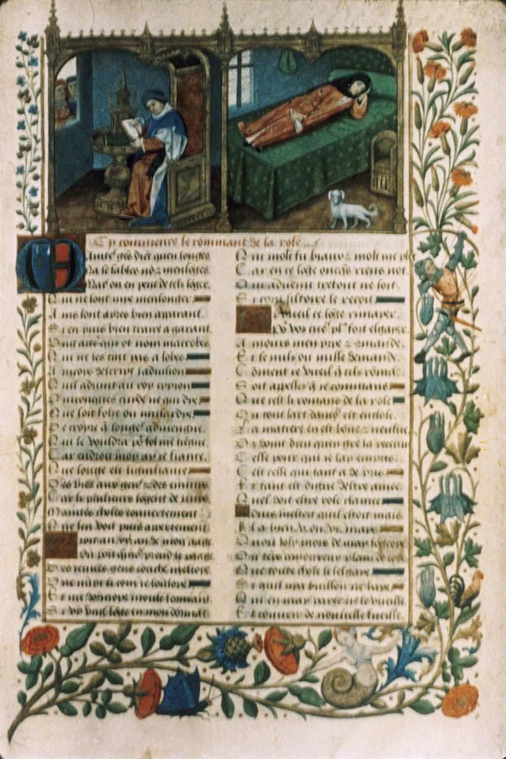 Le Roman De La Rose Guillaume De Lorris Et Jean De Meung