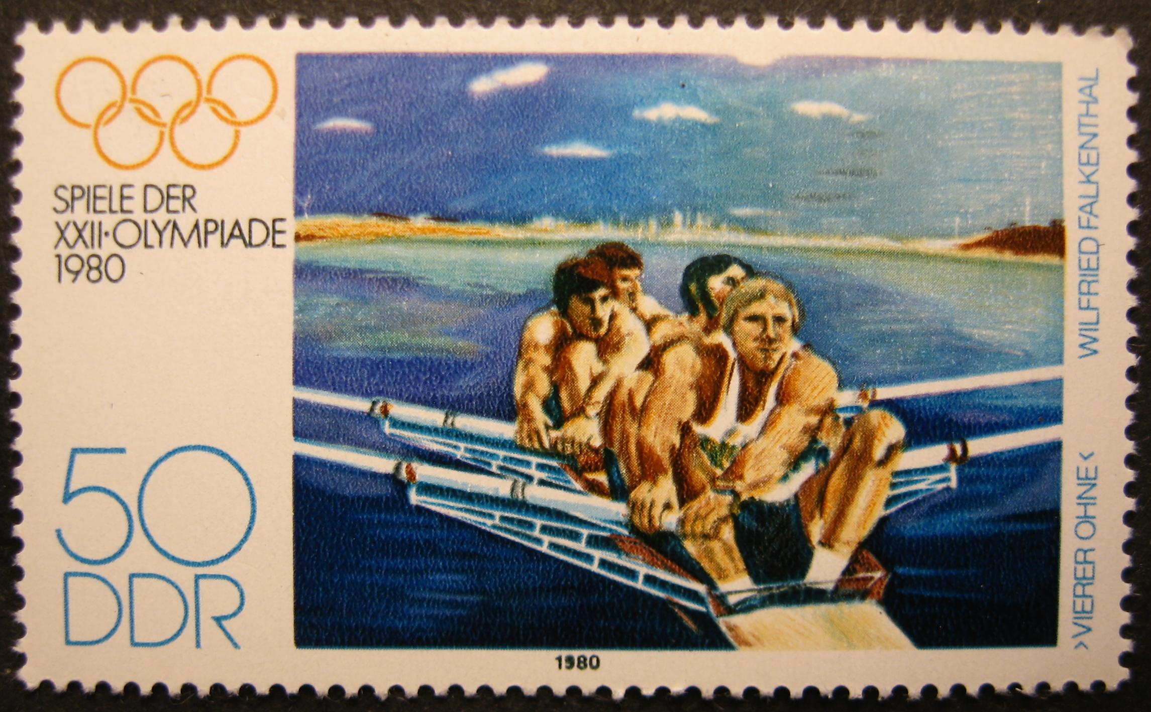 English: Rowing Olympic Games