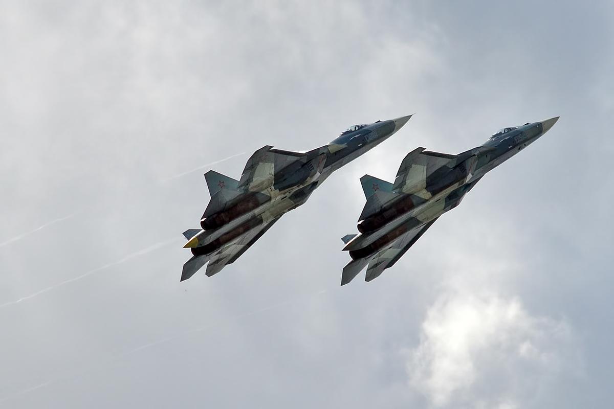 File:Russian Air Force, 052, 054, Sukhoi Su-57 (36975276060).jpg ...