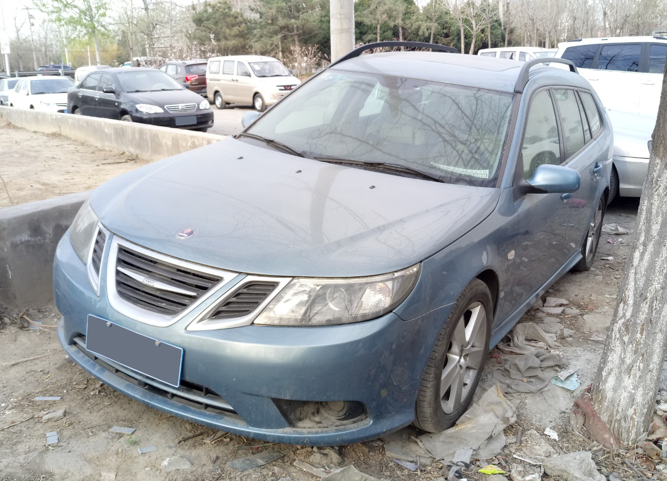 File Saab 9 3 Ys3f Wagon Facelift 02 China 2017 04 01 Jpg