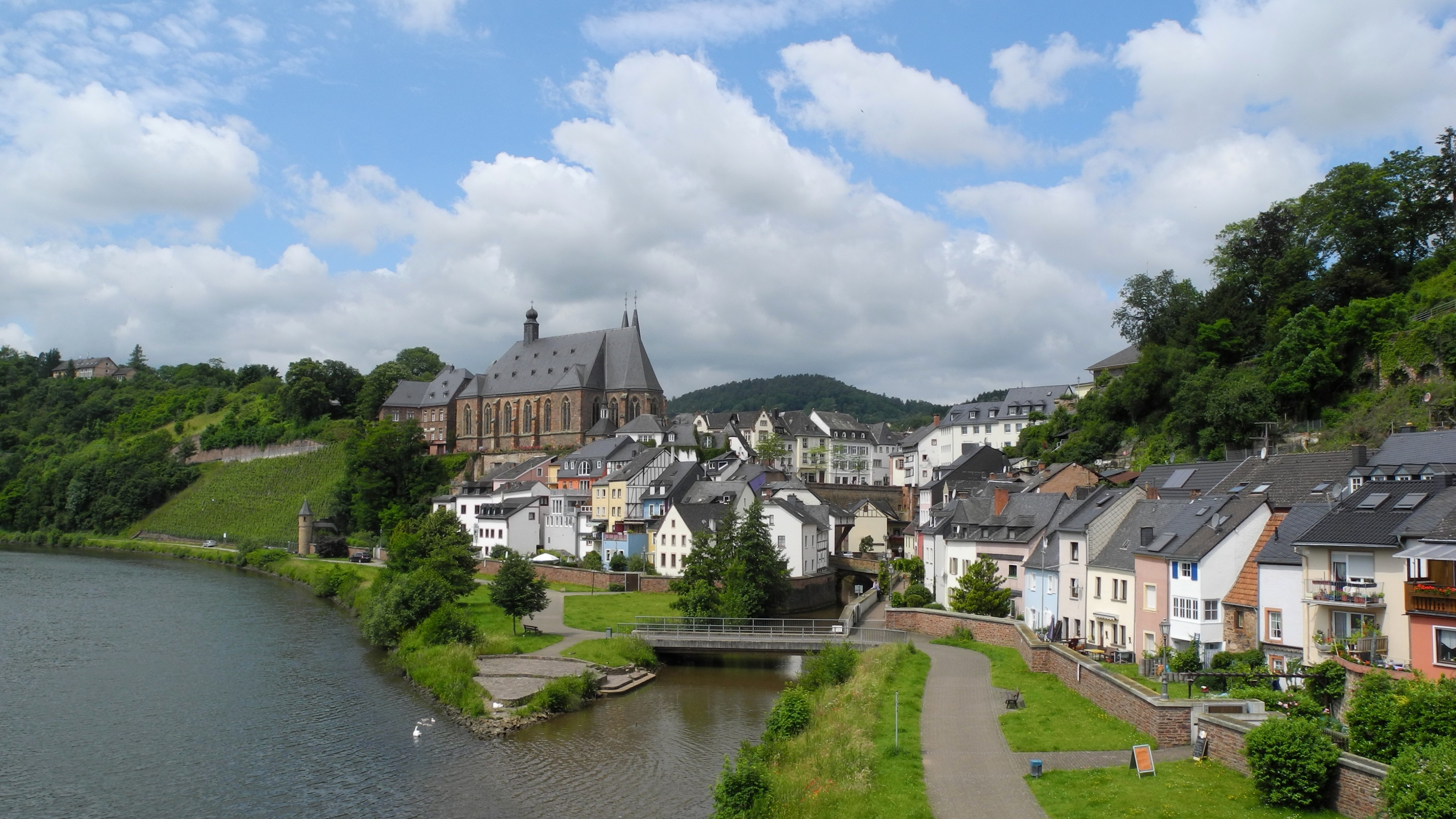 Norden Germany  City new picture : Saarburg Sicht von Norden Wikimedia Commons