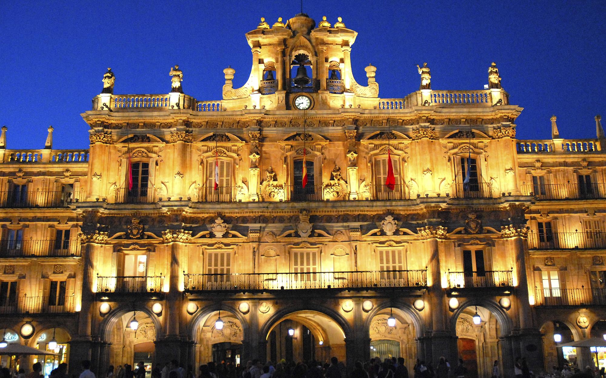 Ayuntamiento de Salamanca ©Aly Jentges