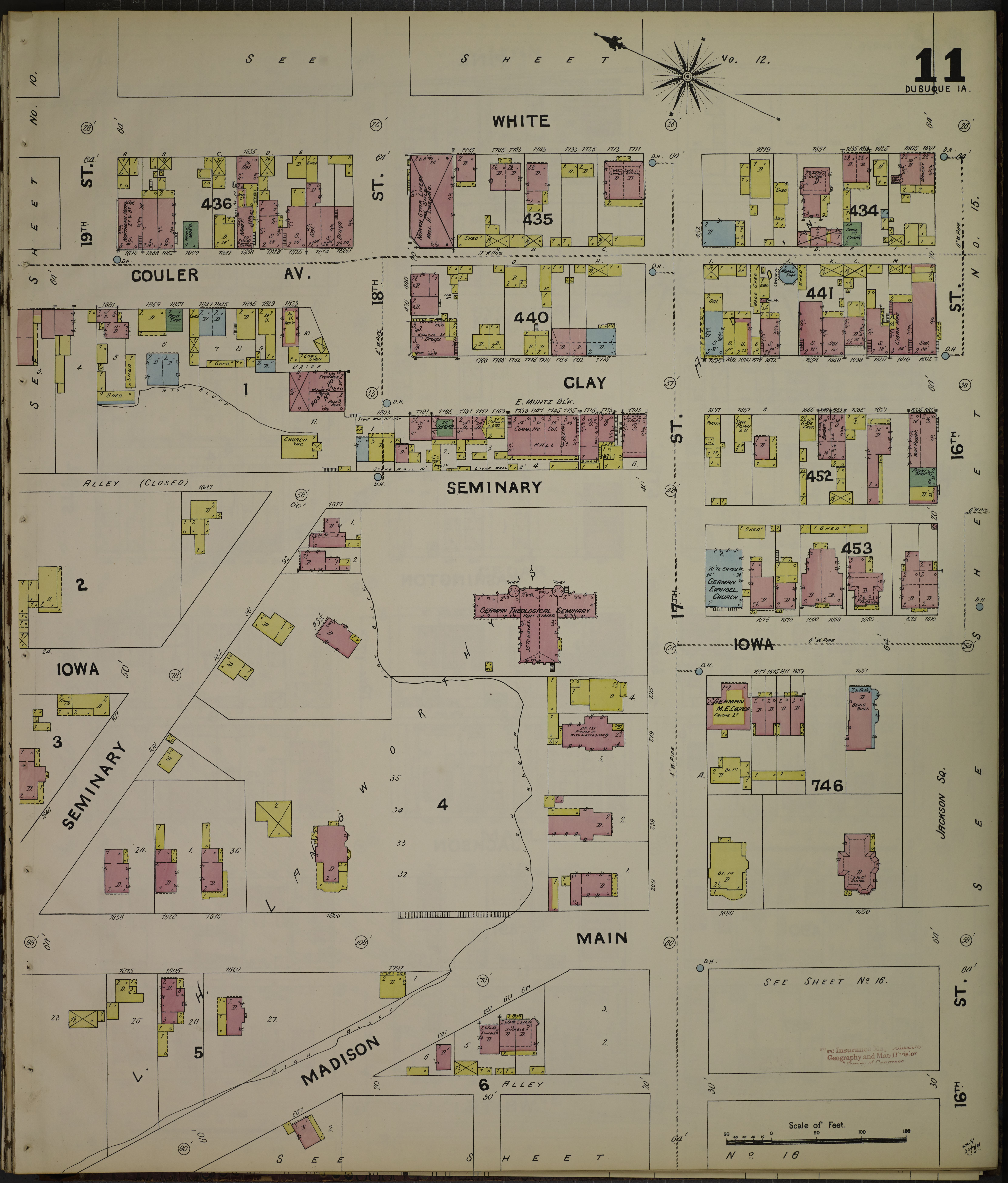 File Sanborn Fire Insurance Map from Dubuque Dubuque County Iowa