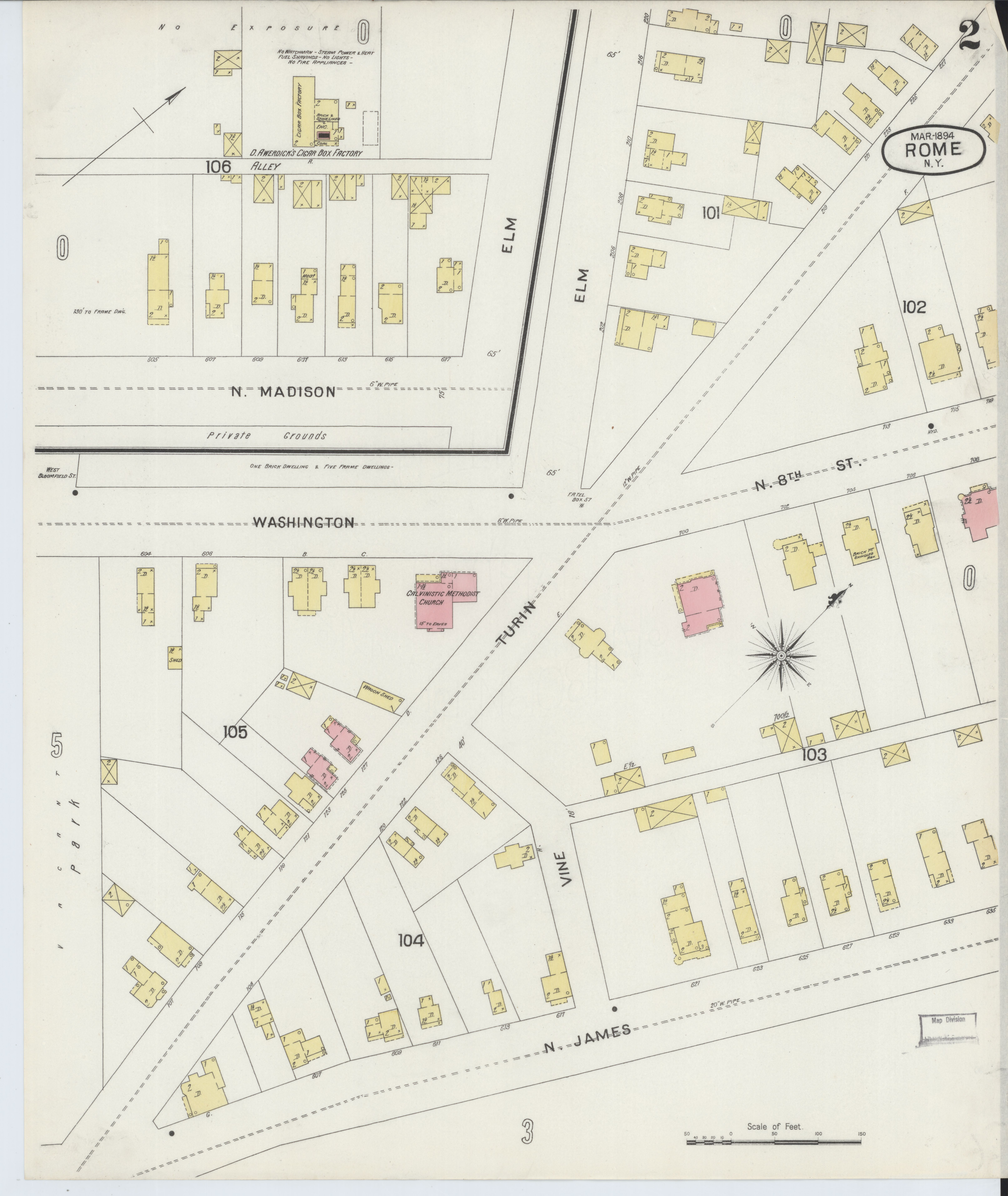 File Sanborn Fire Insurance Map from Rome eida County New York
