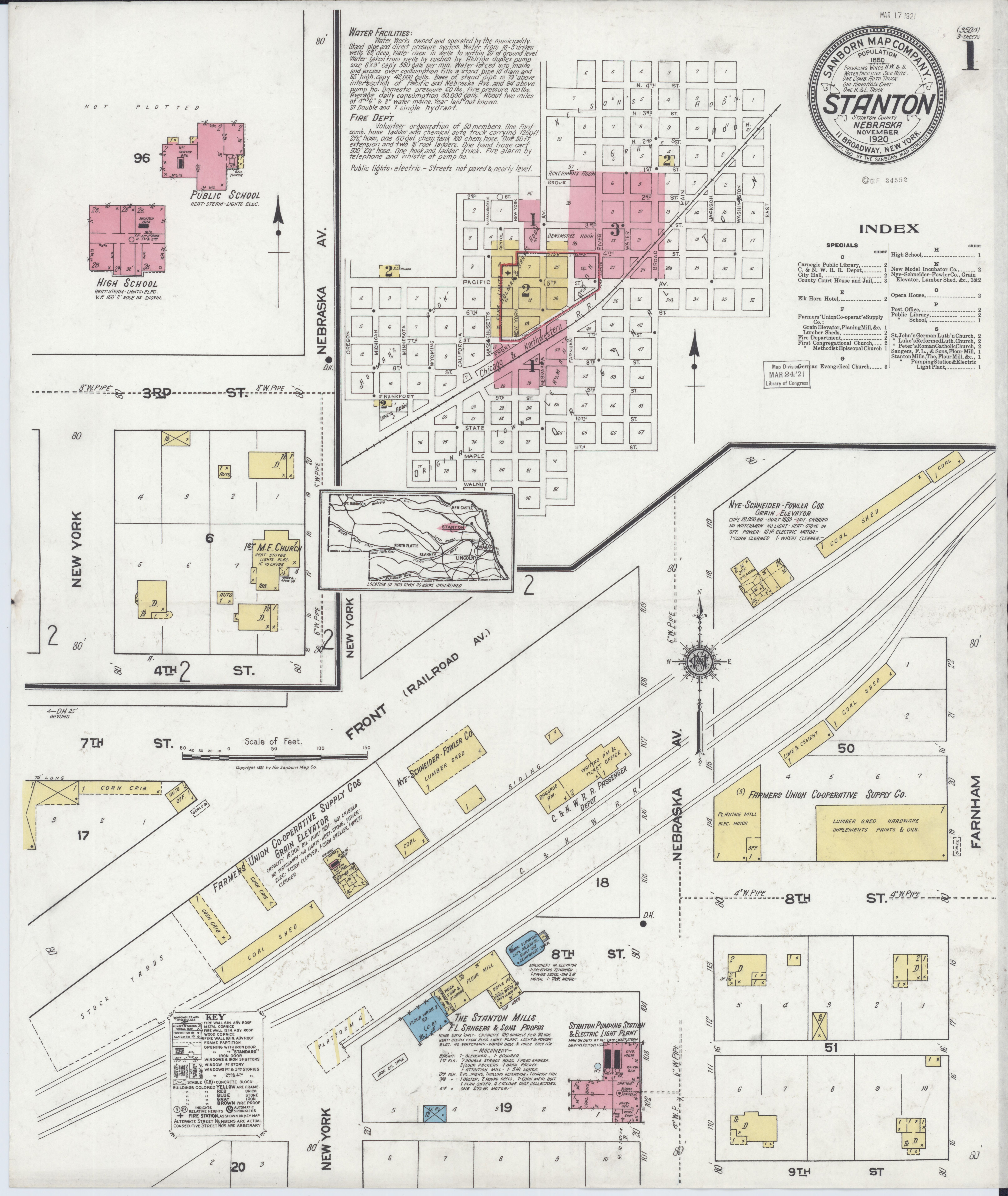 File Sanborn Fire Insurance Map from Stanton Stanton County