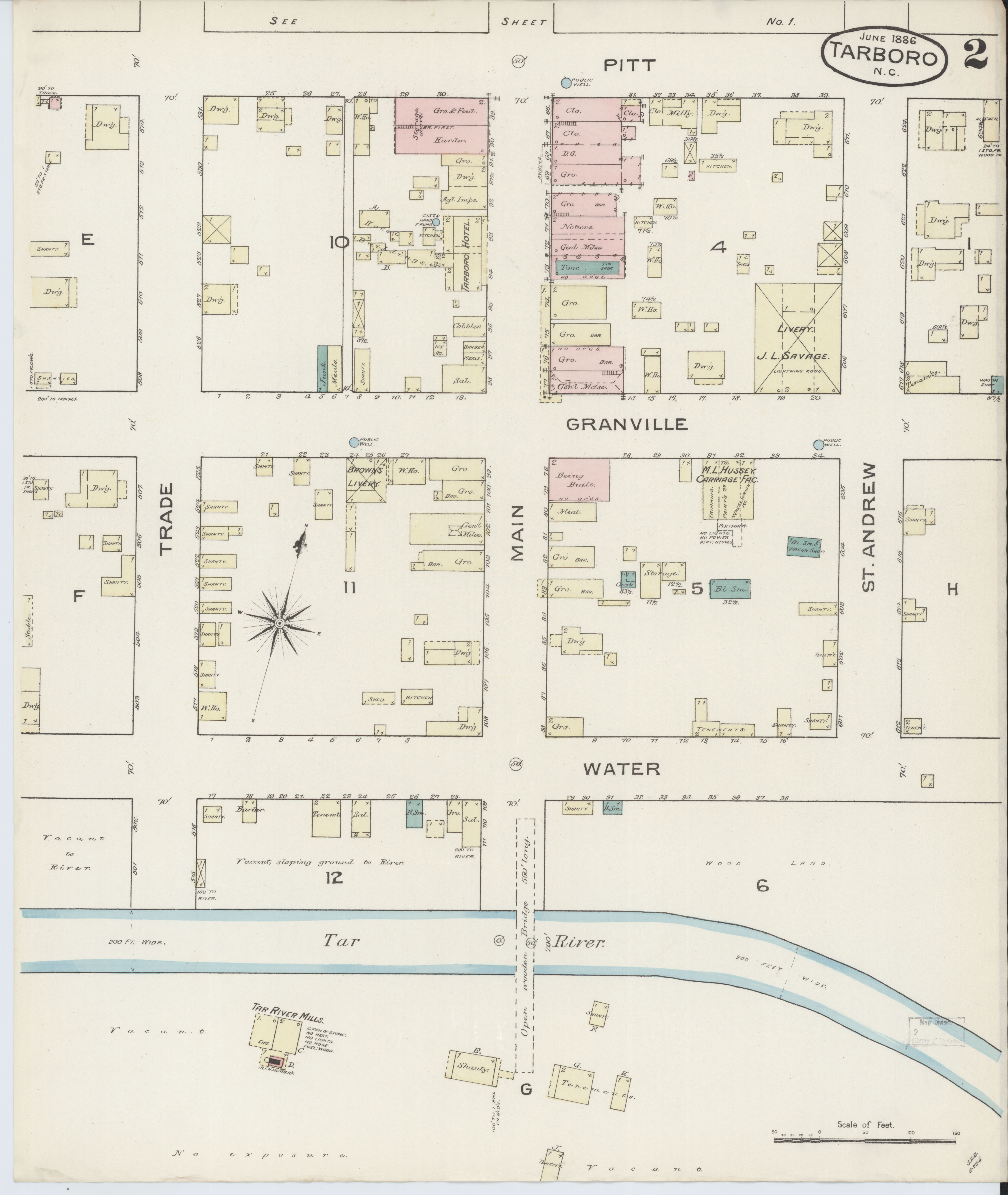 File Sanborn Fire Insurance Map from Tarboro Edge be County