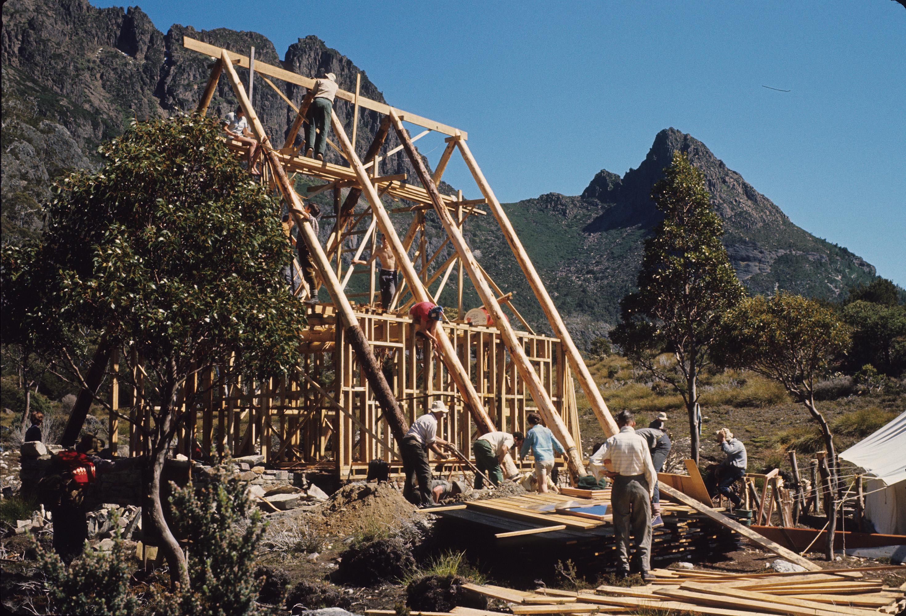 Scott Kilvert Memorial Hut