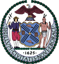 New York seal.