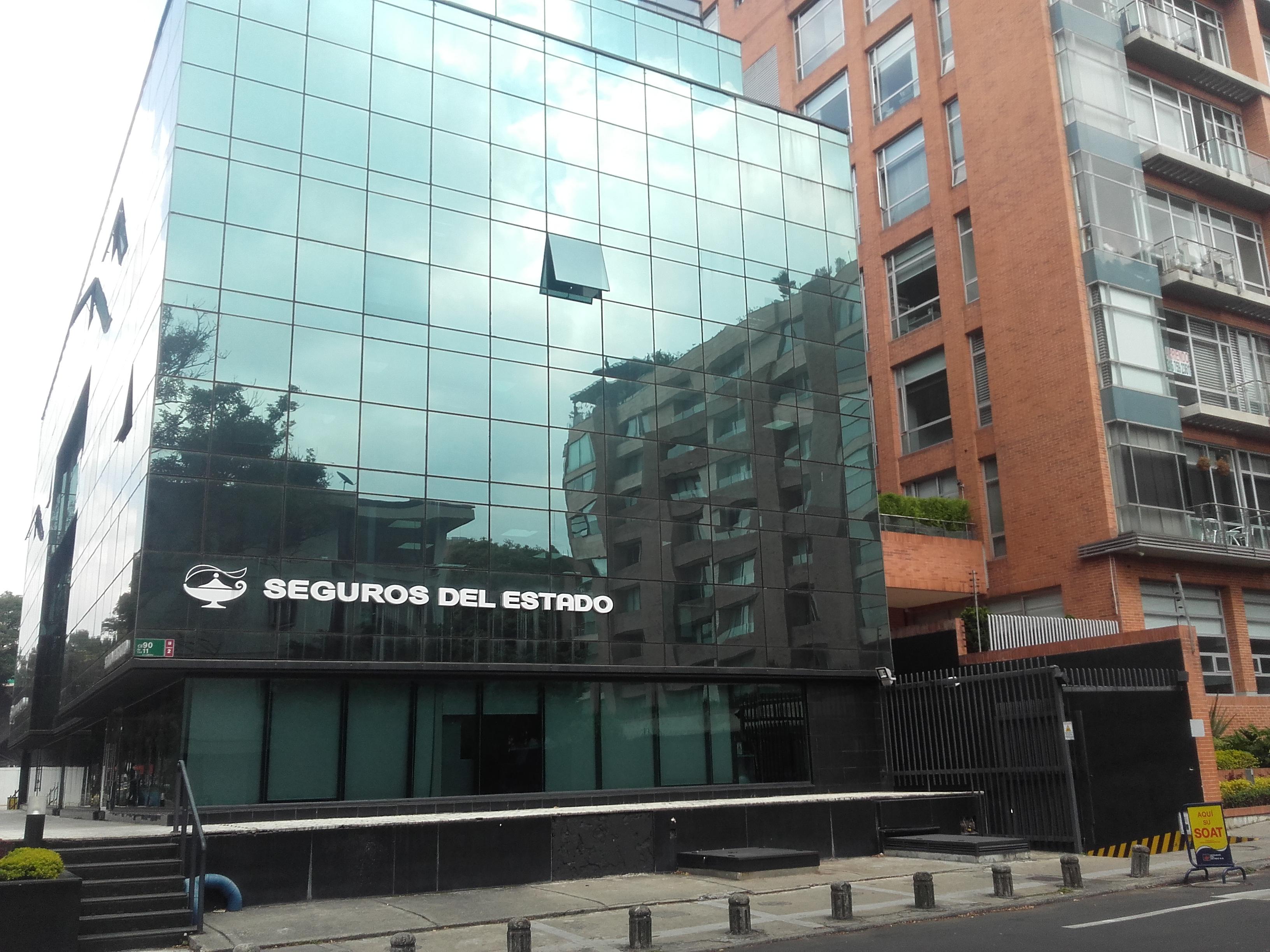File Sede Seguros del Estado en Bogotá