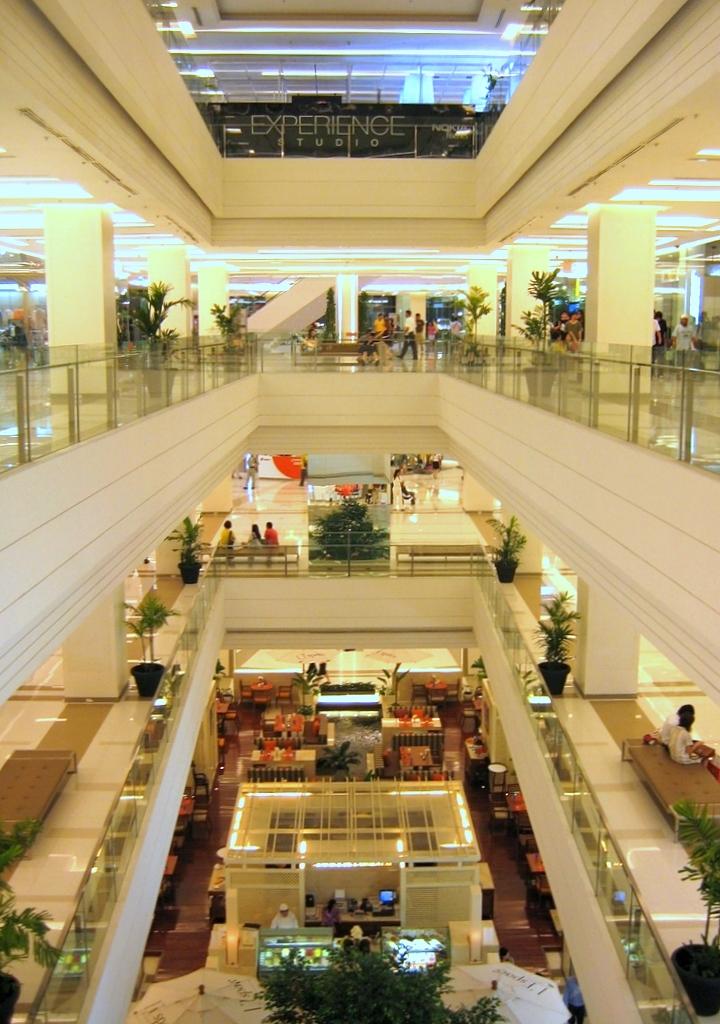 Paragon Mall Bangkok Food Court