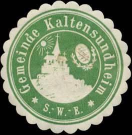 File:Siegelmarke Gemeinde Kaltensundheim W0392995.jpg