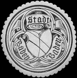 File:Siegelmarke Stadt Baden Baden W0251456.jpg