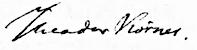 Porträt des Theodor Körner, Gemälde von Dora Stock, 1814. Körners Unterschrift: (Quelle: Wikimedia)