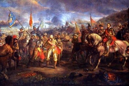 Slag bij Nieuwpoort - Battle of Nieuwpoort (Louis Moritz)