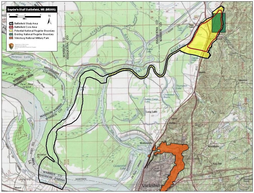 File Snyder s Bluff Battlefield Mississippi Wikimedia mons